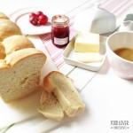 Toastový máslový chléb