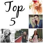 Jsem v TOP 5 blogerek října