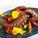 Výzva s Kalamáta Papadimitriou: Grilovaná chobotnice s chilli omáčkou