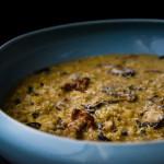 Krémové houbové risotto