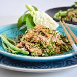Nam Tok – Ostrý salát z grilovaného vepřového