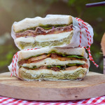 Sendvič v italském stylu z M&S potravin
