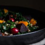 Podzimní salát squinoou a pečenou dýní