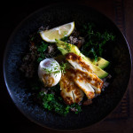 Podzimní snídaňová miska s quinoou