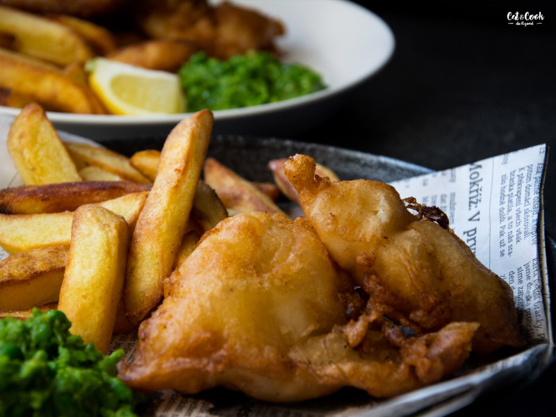 how to cook fish and chips at home
