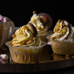 Perníkové cupcakes se skořicovým krémem