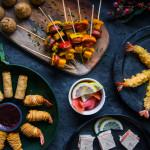 Špízy chorizo & cheddar z M&S potravin