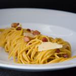 Celozrnné spaghetti carbonara z M&S potravin