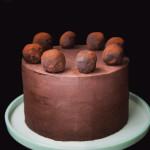 Čokoládovo – mandlový dort