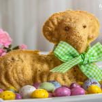 Velikonoční máslový beránek z M&S potravin