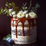 Velikonoční banánový dort