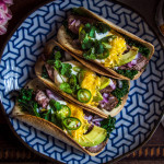 Tacos sfilírovaným steakem z M&S potravin