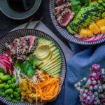 Tuna bowl – grilovaný tuňák se zeleninou