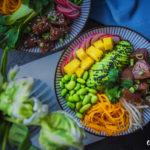 Poke bowl – havajský tuňák se salátkem