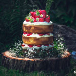 Vanilkový dort s jahodami a krémem z mascarpone z M&S potravin