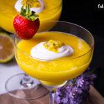 Mangovo – kokosové smoothie s bílým rumem z M&S potravin