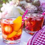 Sangria rosé z M&S potravin
