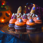 Halloweenské cupcakes z M&S potravin
