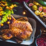 Pečená kachna sfíky a kapustičkami z M&S potravin