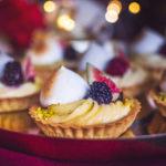 Košíčky s vanilkovým krémem a ovocem z M&S potravin