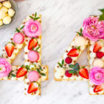 Cream tart – Number / Alphabet cake – Biscuit cake