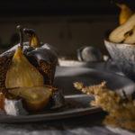 Kakaový chlebíček s hruškami