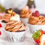 Valentýnské cupcakes
